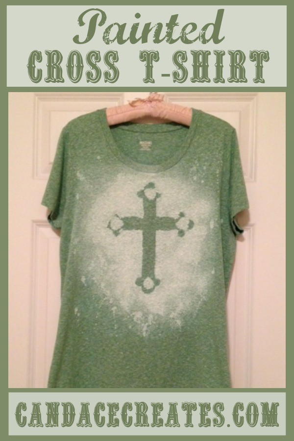 Painted Cross T-Shirt