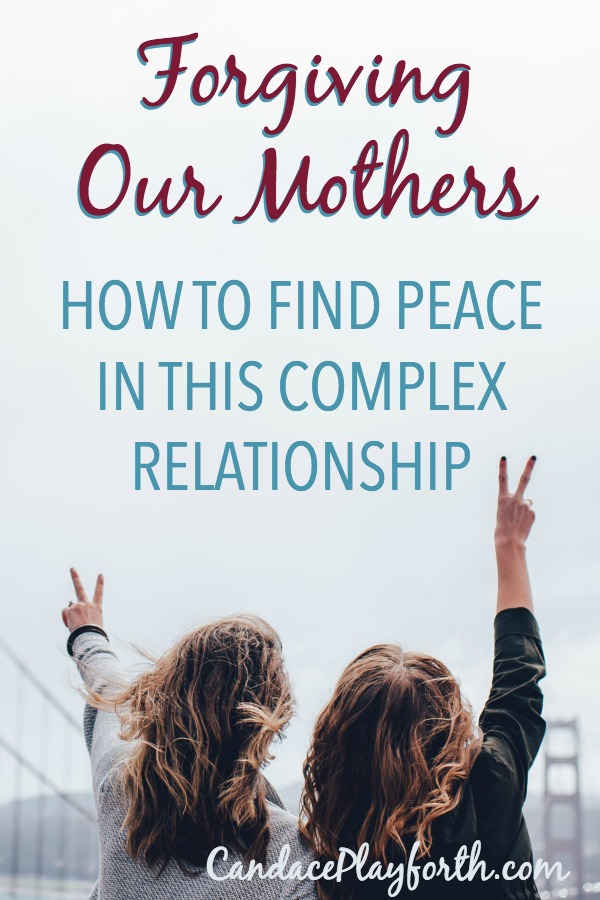 Forgiving our mothers for the inevitable mistakes of the past is a necessity for our emotional health. The mother daughter relationship is one of the most complex unions we will ever have. Learn how you can change focus and move forward in love with your mom in honor of Mother's Day.