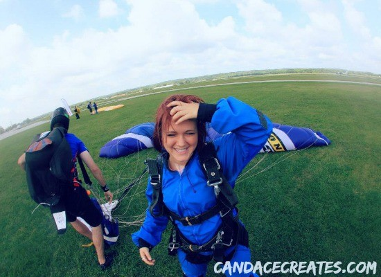 Letting Our Kids Fly... Literally: My daughter's skydiving adventure