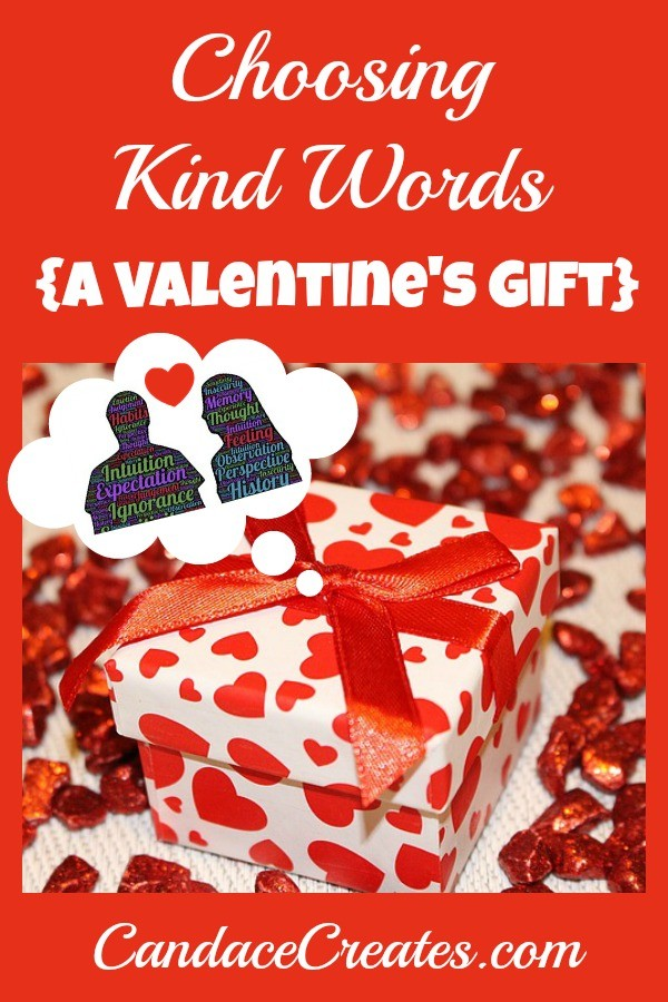 Choosing Kind Words: A Valentine's Gift. How to choose grace over the need to prove your point!