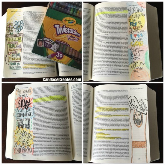 Creative Bible Journaling: Getting started and basic supplies... CandacePlayforth.com