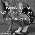 Breaking Up With the Scale: How to find our worth outside of that dreadful number...