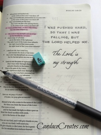 Creative Bible Journaling With Paint: Basic technique and supply list
