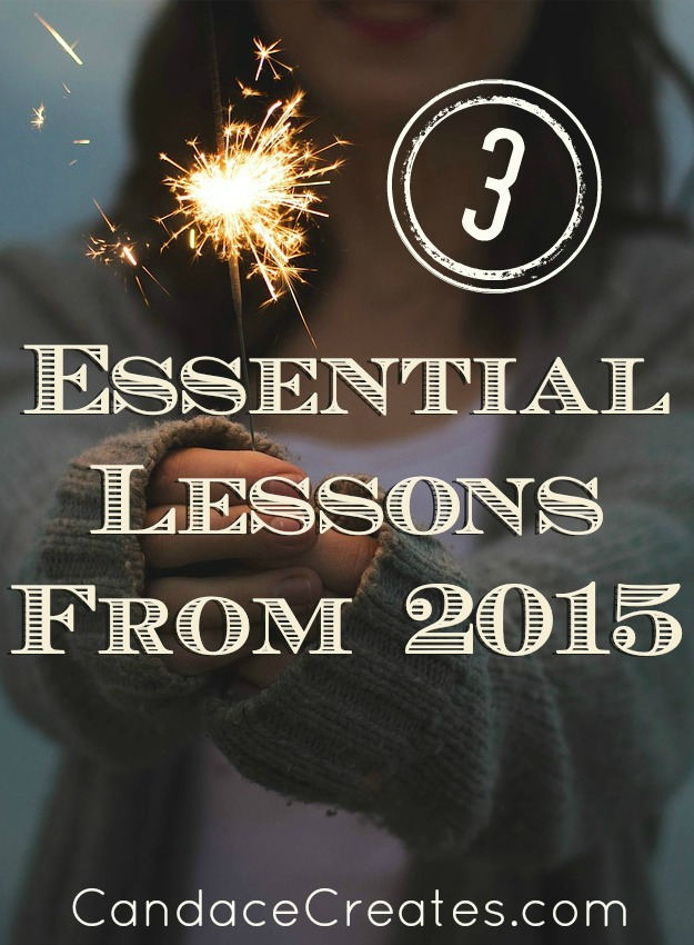 3 Essential Lessons From 2015: Life changing tips for the New Year...