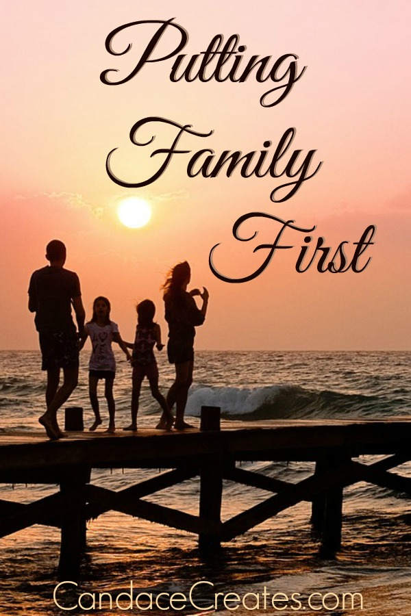 Putting Family First... This online, distracted life we live changes our entire family dynamic. Let's refocus.