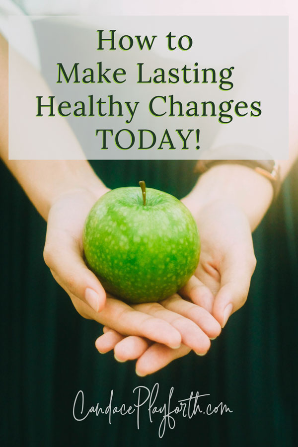 Do you struggle with making lasting changes in your daily health and fitness habits? Read this for some great tips on how to make healthy choices and start living as if you've already met your health goals today! #healthylifestyle #betterhealth #healthgoals