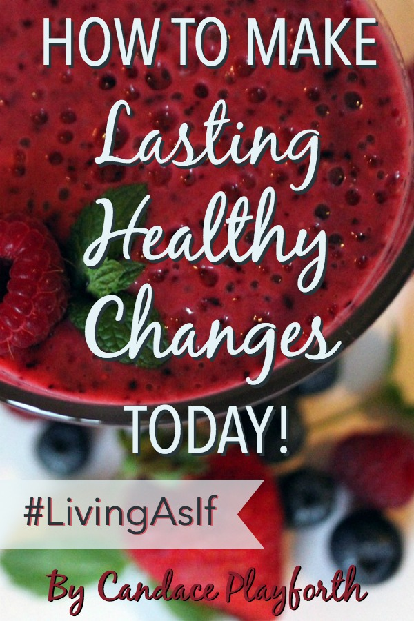 Do you struggle with making lasting changes in your daily health and fitness habits? Read this for some great tips on how to make healthy choices and start living as if you've already met your health goals today!