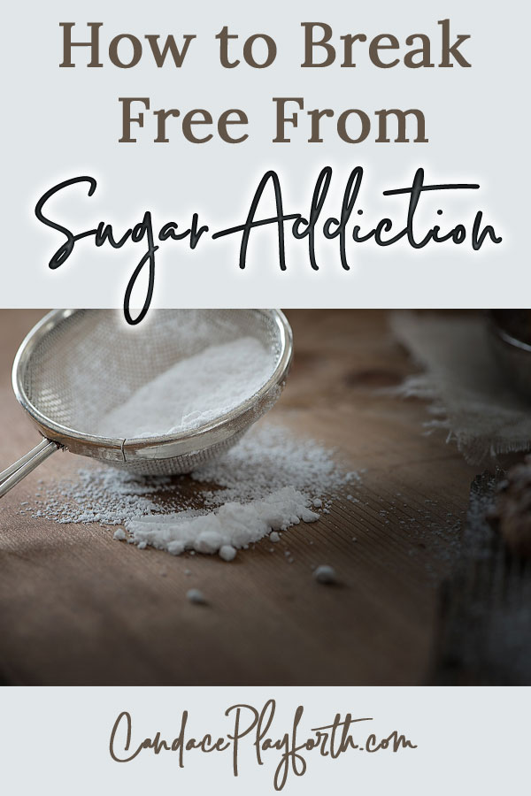 How to break free from sugar addiction pin
