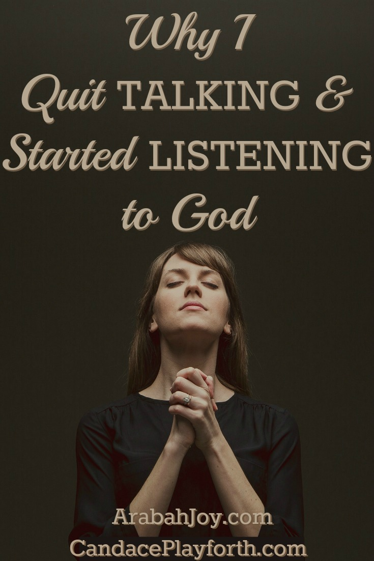 Our prayer time can quickly become a scripted list of our desires. When we talk less and listen more to God, we experience Him in ways we never thought possible as our faith and trust grow exponentially.