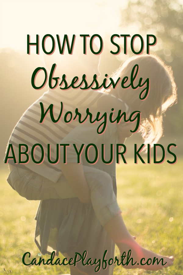 Do you worry obsessively about your kids? Check out the quick and easy tool I'm using to stop this unnecessary struggle. It's a perfect new mindset to strengthen our faith and trust that God will protect our precious children.