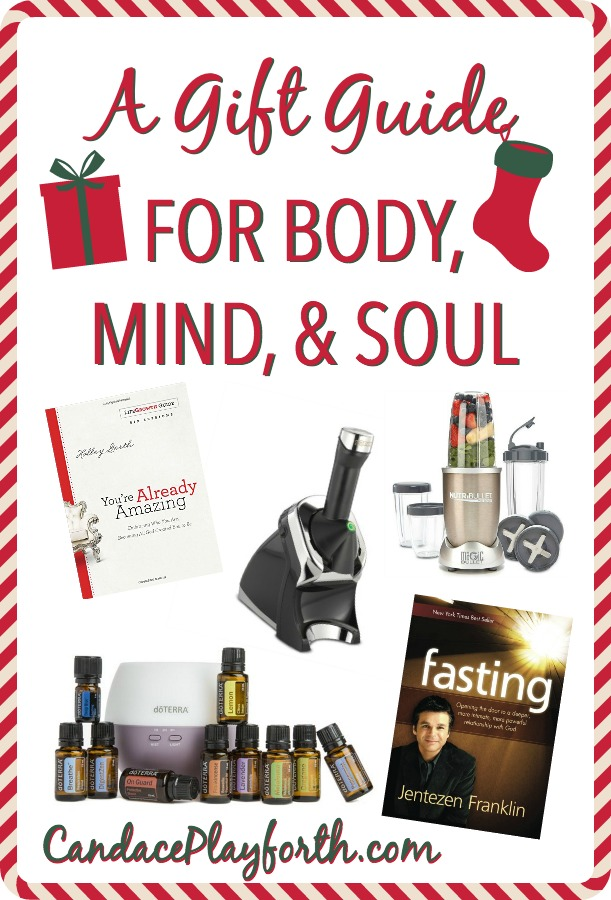 Are you looking for Christmas gift ideas? Check out this gift guide for body, mind, and soul! It includes a variety of books and tools for stress relief, easy food preparation, emotional healing, and an all around healthy lifestyle…