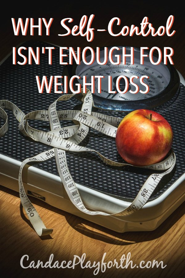 Have you found out the hard way that self-control is not enough for lasting weight loss? Learn more here about why losing weight and making consistent healthy choices are so incredibly difficult and what you can do about it!