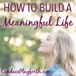 How to Build a Meaningful Life