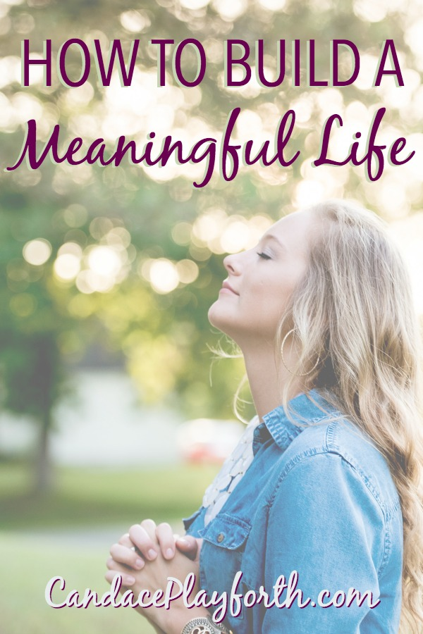 Creating a meaningful life and finding our purpose can easily overwhelm us. Check out these ideas and tips for seeing deep meaning in our everyday routines.