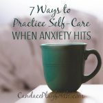 7 Ways to Practice Self-Care When Anxiety Hits
